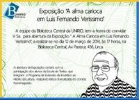 """Exposição """"A alma carioca em Luís Fernando Veríssimo"""""""